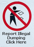 Please Report Illegal Dumping!